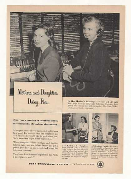 Bell Telephone Operators Betty & Ruby Miller (1953)