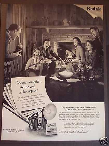 Kodak Verichrome Film Priceless Memories (1953)