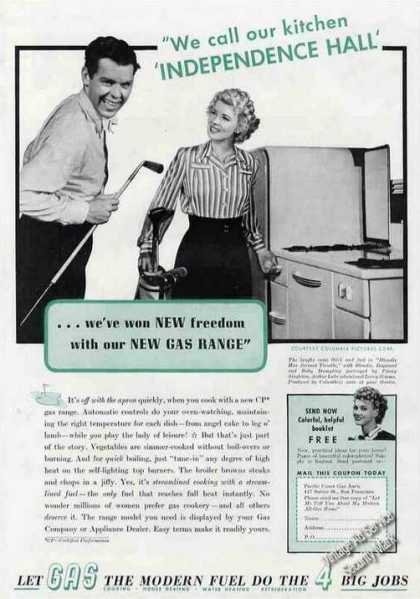 Dagwood &amp; Blondie New Gas Range Promo (1940)