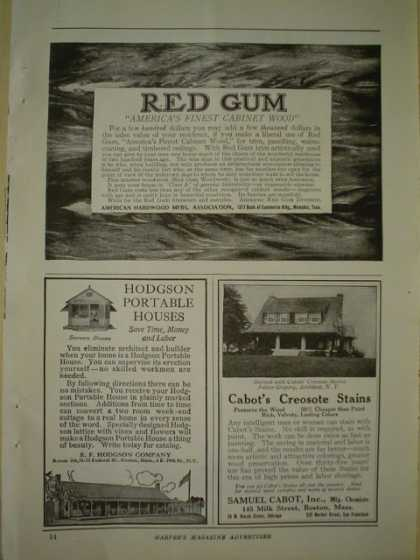 Red Gum America's finest cabinet wood (1920)