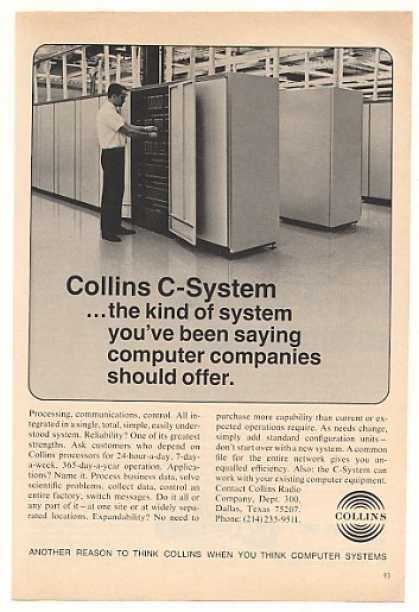 Collins C-System Computer (1970)