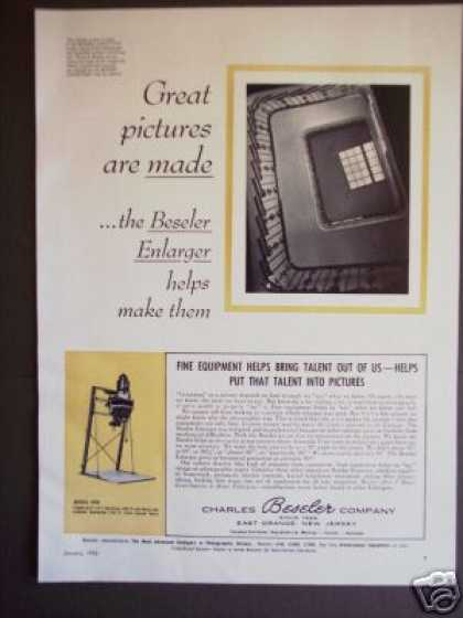 Beseler Model 45m Photo Film Enlarger Original (1956)