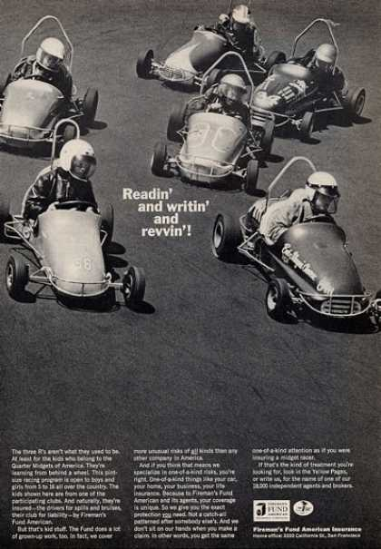 Fireman's Fund American Insurance Go Cart (1965)