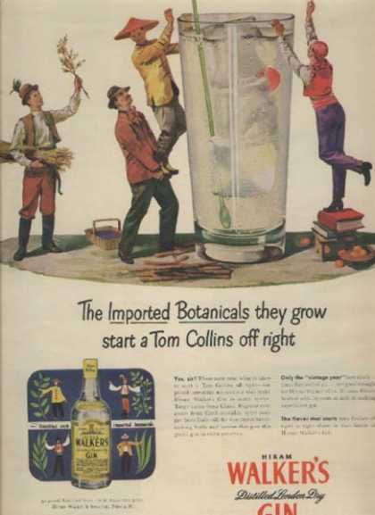 Walker's Imported Botanicals (1947)