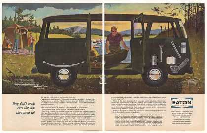 Eaton Automotive Parts Van Camping art (1963)