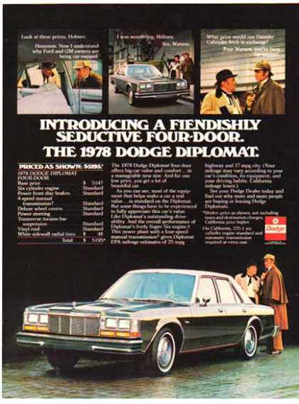Vintage Car Advertisements Of The 1970s Page 23