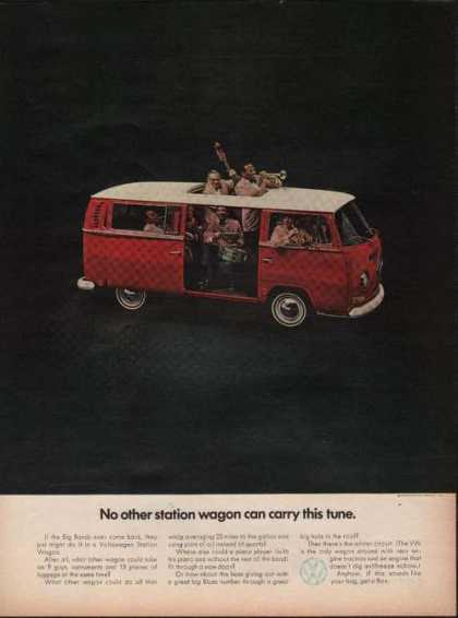 Red Volkswagen Station Wagon (1969)