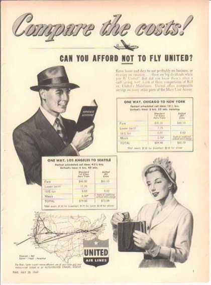 United Air Lines – Rail vs. United (1949)