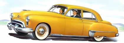 Futuramic Oldsmobile 98 (1949)