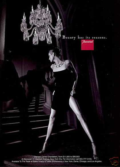 Baccarat Crystal Chandelier Sexy Legs Photo (1998)
