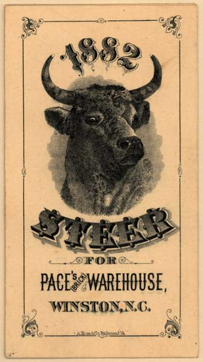 Pace's (Brick) Warehouse's Storage – Storage (1882)