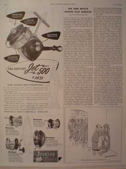 Bronson Fishing Fish Reels Jet 500 (1954)