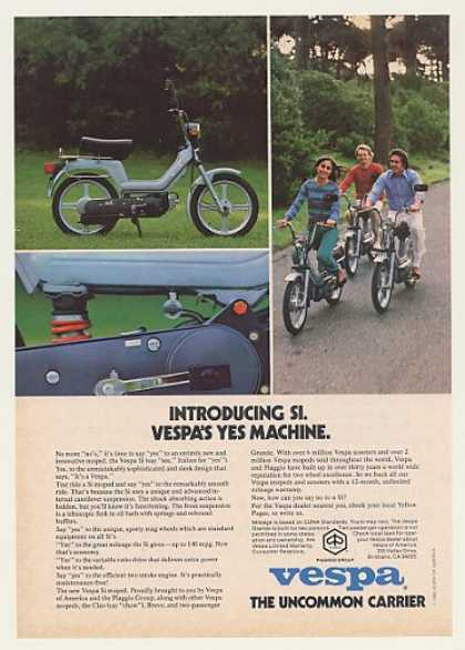 Piaggio Vespa Si Moped Photo (1980)