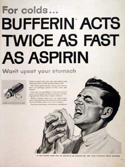 Bufferin Analgesic #2 (1957)