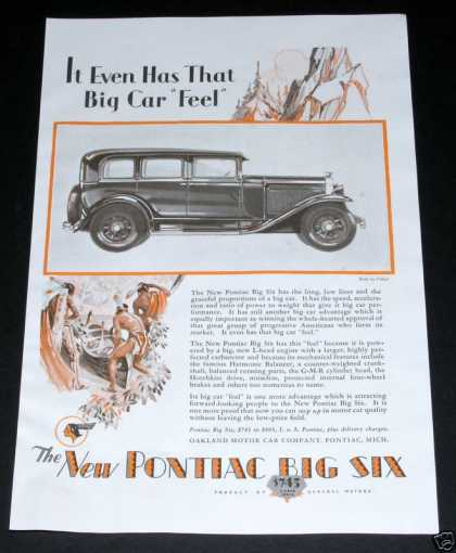 Pontiac Six, That Big Car Feel (1929)
