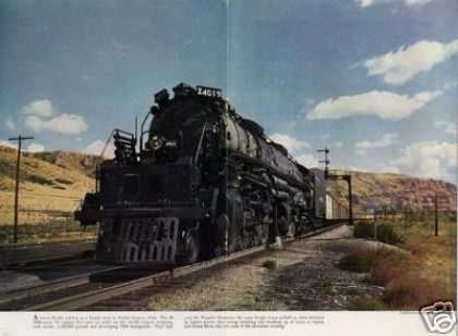 Magazine Photo/union Pacific Big Boy #4019 (1944)