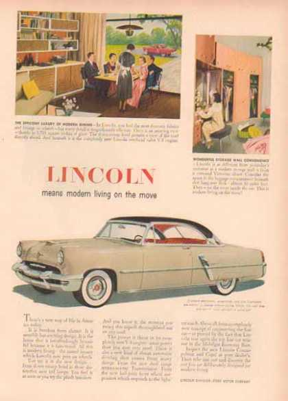 Lincoln Capri Car – Light Gray 2 Tone (1951)