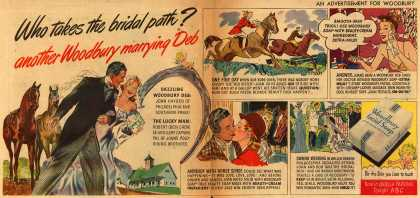 Woodbury's Facial Soap – Who takes the bridal path? another Woodbury marrying Deb (1947)