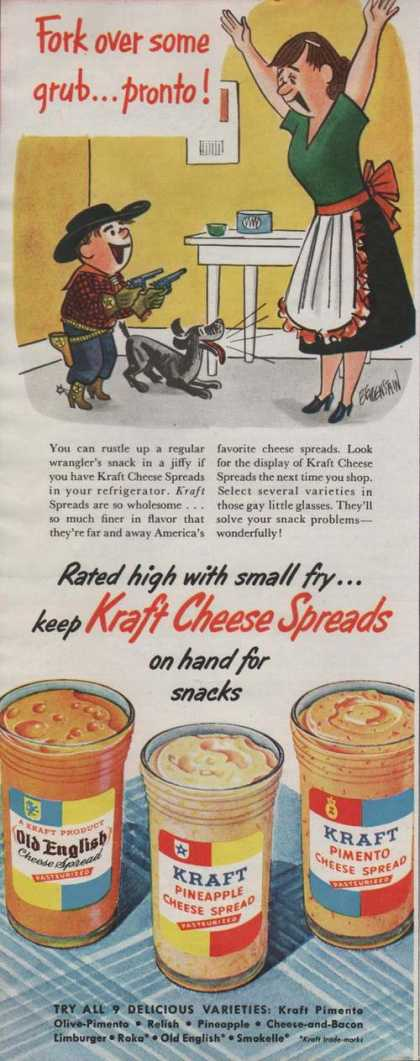 Kraft Cheese Spread Cartoon (1951)