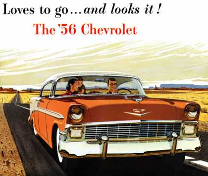 Chevrolet Bel Air Sport Sedan (1956)