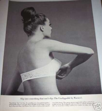 Original Unslippable Warner Strapless Bra (1963)