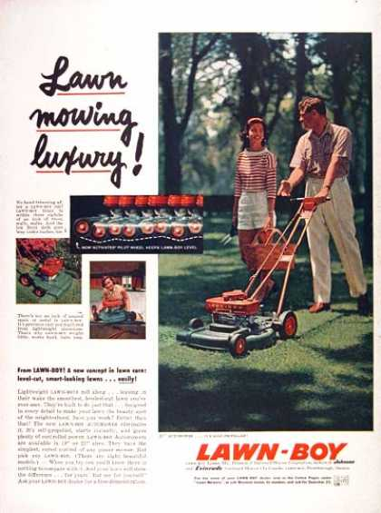 Lawn Boy Mower (1957)