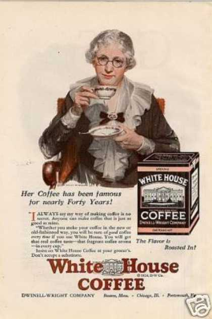 White House Coffee Color (1926)
