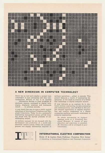 ITT Intl Electric Military Computer Development (1959)