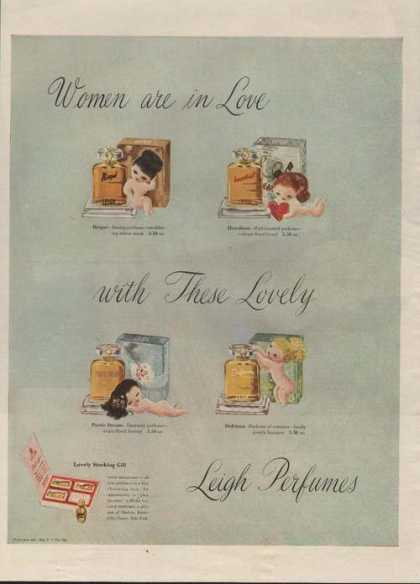 Leigh Perfumes Women Ar In Love (1946)
