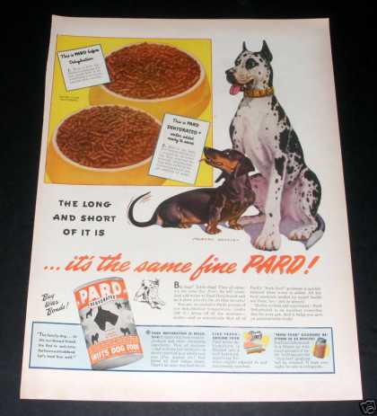 Pard Dog Food, Great Dane (1944)
