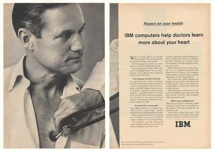 IBM Computer Help Doctors Learn Your Heart (1964)