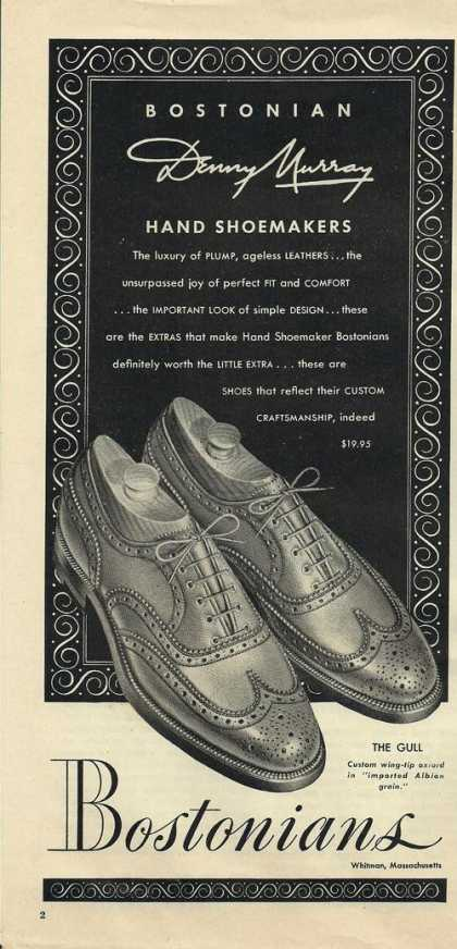 Hand Shoe Makers Bostonians (1948)