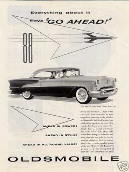 "Oldsmobile Super ""88"" Holiday Coupe (1955)"