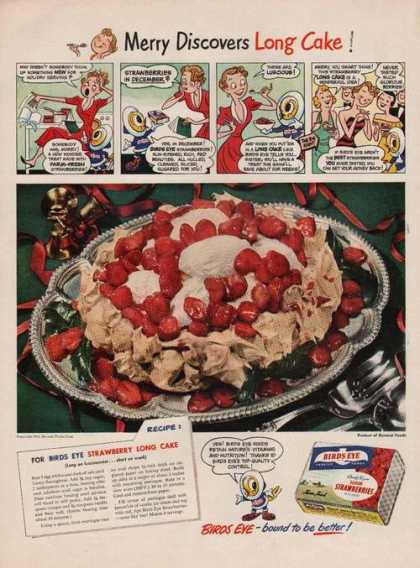 Birds Eye Sliced Strawberri (1949)
