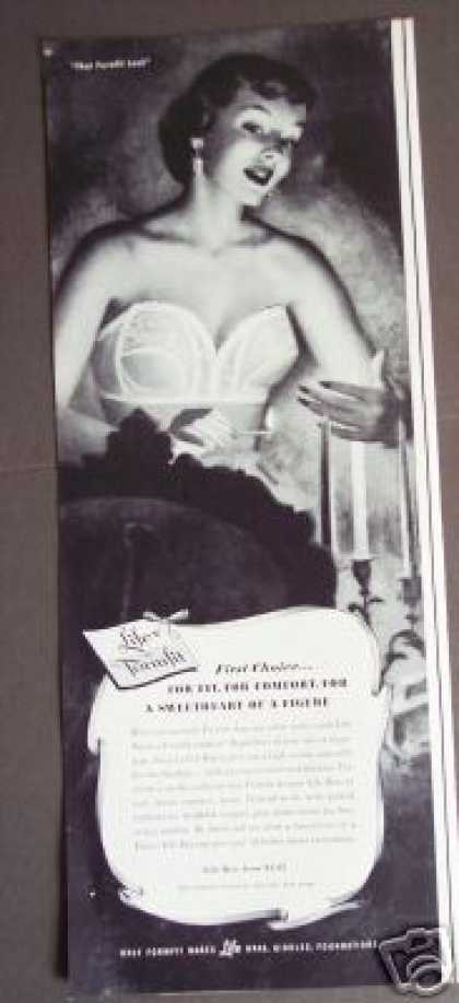 Formfit Life Bra Sweetheart of a Figure Art (1951)