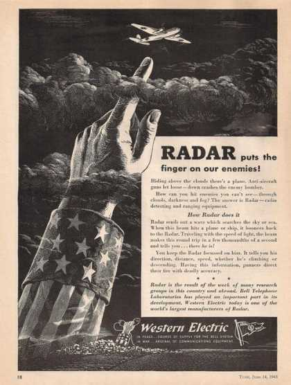 Radar Western Electric (1943)