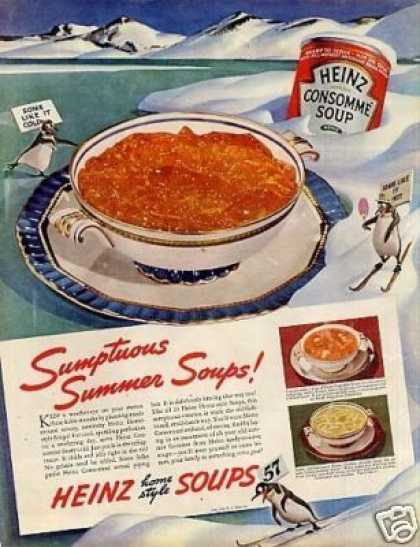 Heinz Consomme Soup (1938)