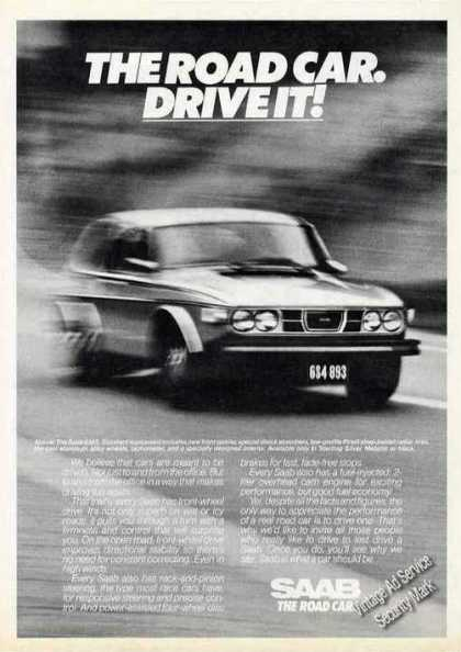 "Saab ""The Road Car. Drive It"" (1976)"