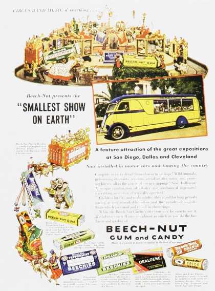 Beech-Nut Gum and Candy