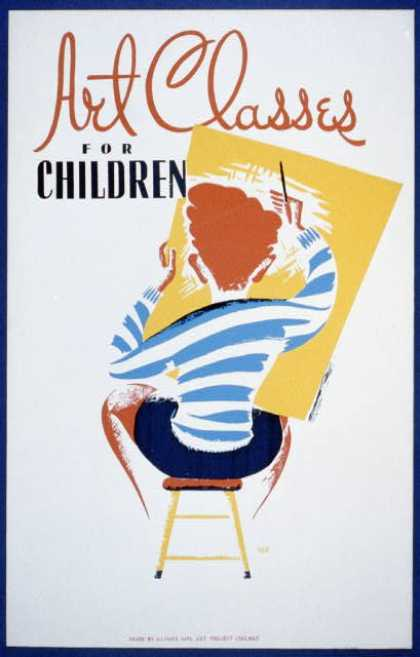 Art classes for children / REK (1936)