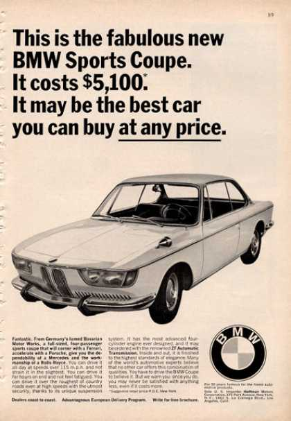 Bmw Sports Coupe (1966)