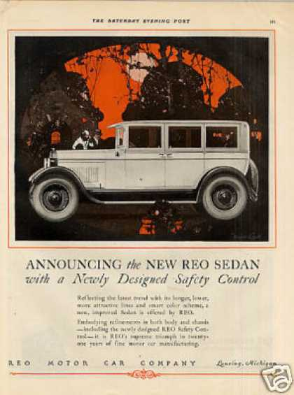 Reo Sedan Color (1926)