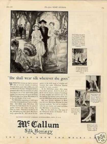 Mccallum Silk Hosiery (1926)
