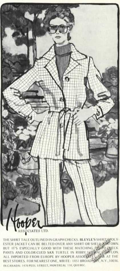 Fashion Drawing Hooper Associates (1974)