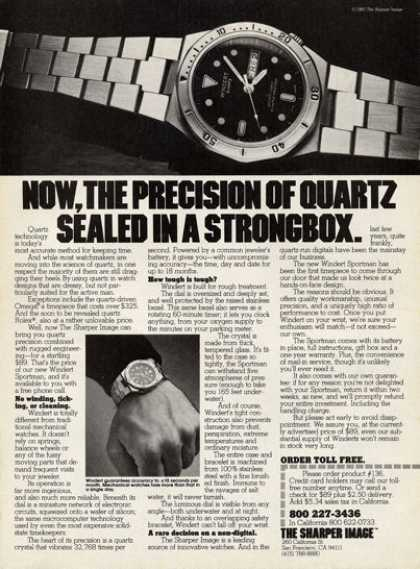 Windert Quartz Divers Watches (1980)