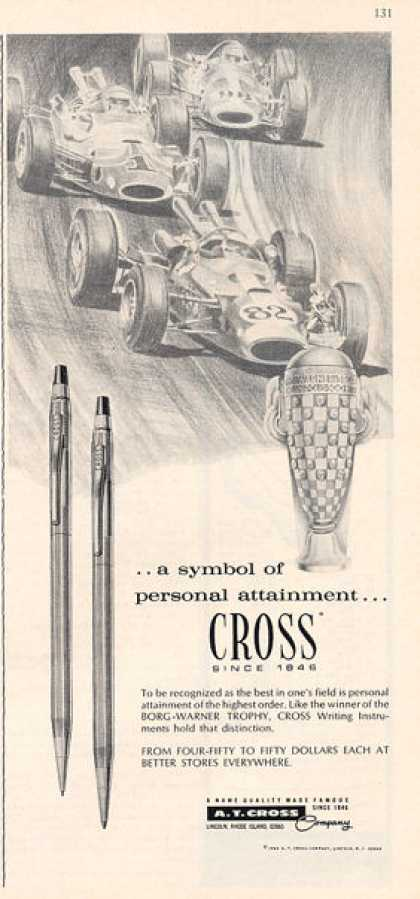 Cross Pen Pencil Set Indy 500 (1966)