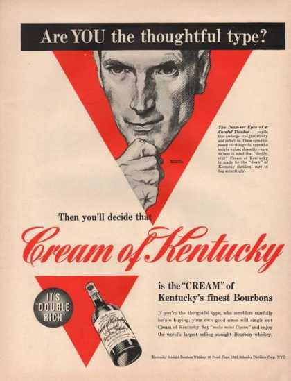 Cream of Kentucky Bourbons (1942)