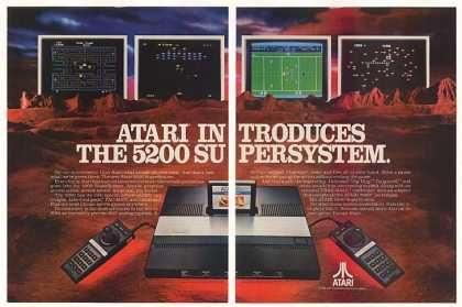 Atari Introduces 5200 SuperSystem (1982)