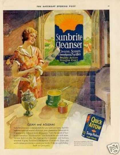 Sunbrite Cleanser Color (1931)