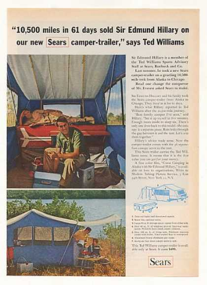 Sir Edmund Hillary Sears Camper Trailer (1963)
